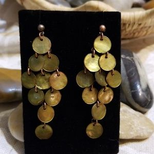 NWOT Carol Dauplaise Pierced Earrings